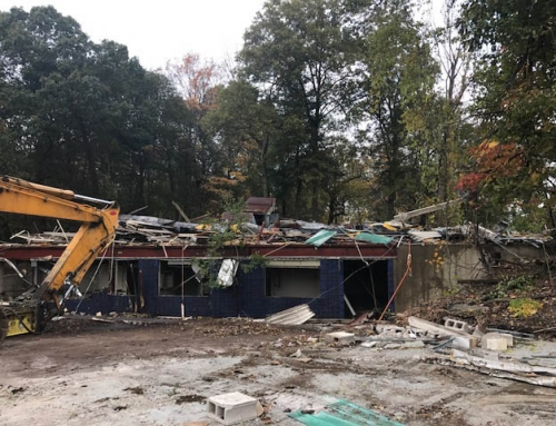 Demolition Progress Proceeds Towards Future Plans